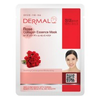 DERMAL Collagen Essence Facial Mask Rose 23g
